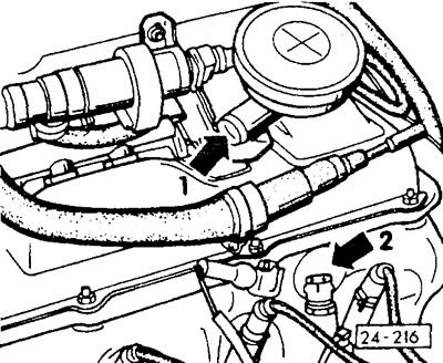 Замена регулятора холостого хода — Volkswagen Passat, 1.8 л., 1989 года на DRIVE2