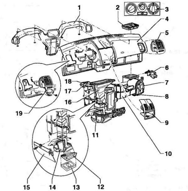 система кондиционирования воздуха в автомобиле фольксваген поло
