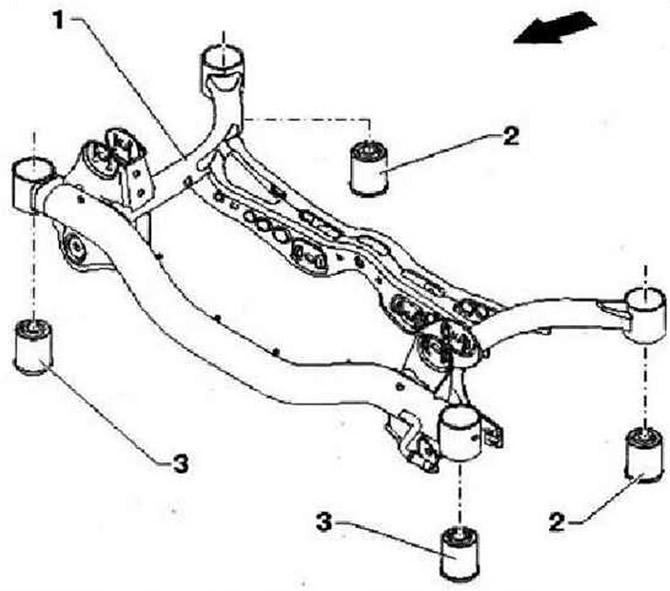 Схема подвески golf plus
